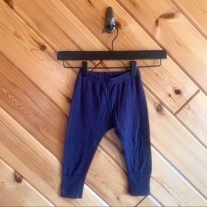 Hanna Andersson 80 cm 2t Navy Blue Harem Pants